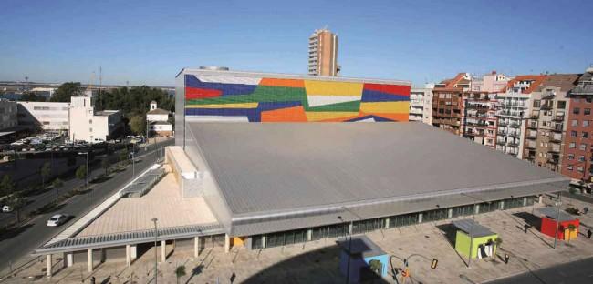 Public Parking and Central Market in Huelva