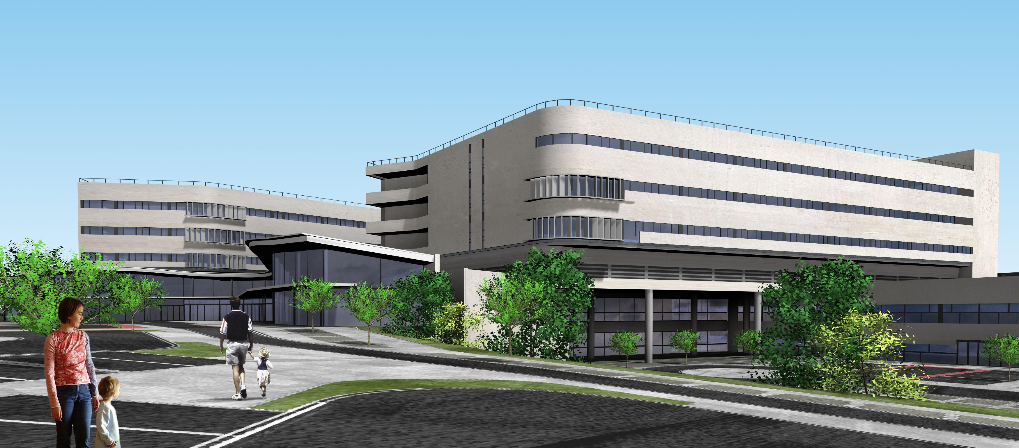 Nuevo hospital de c ceres rgola arquitectos rgola for Plataforma arquitectura