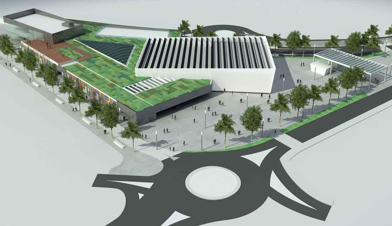 Centro comercial de mar n rgola arquitectos rgola for Arquitectura de proyectos