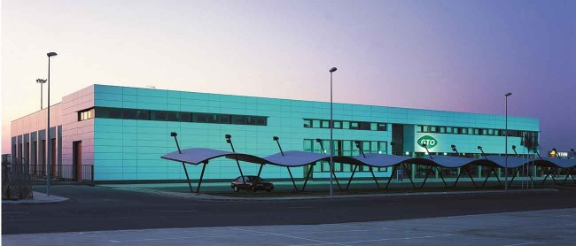 Centro logístico de Niebla