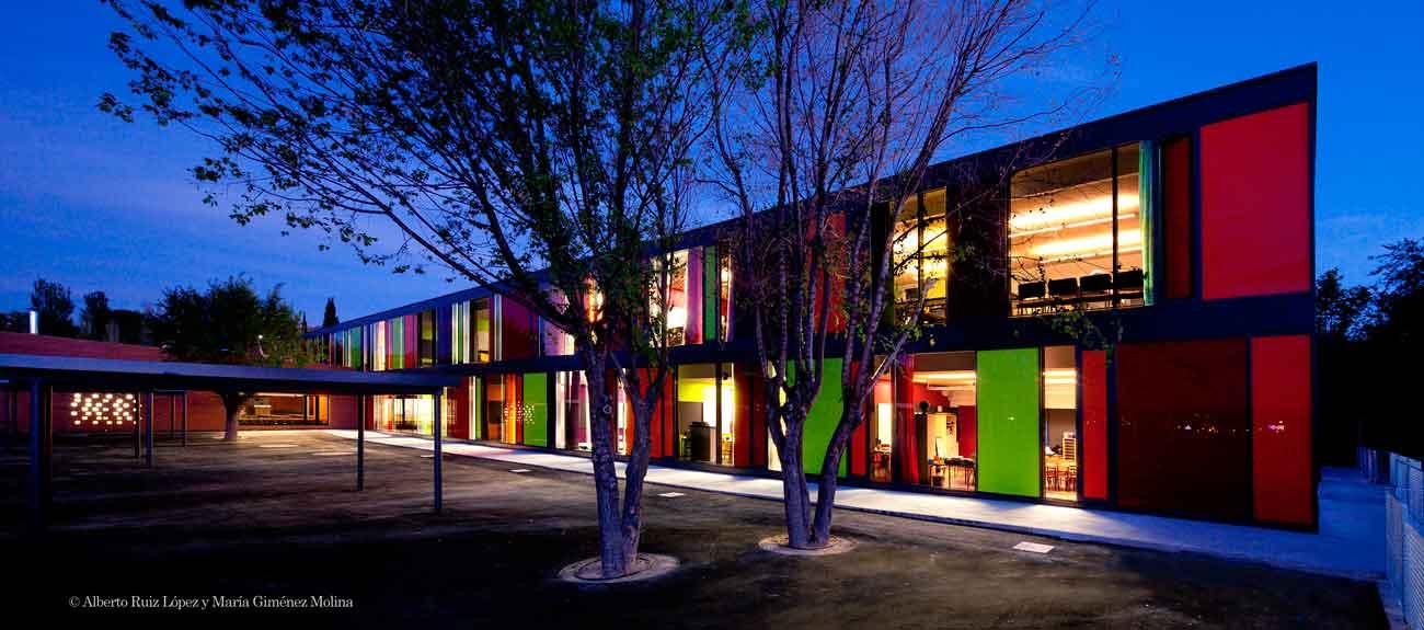 St exup ry liceo franc s rgola arquitectos rgola for Restaurante escuela de arquitectos madrid