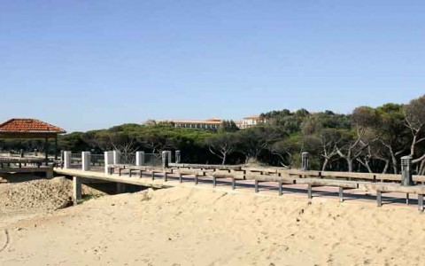 Parque litoral de Isla Cristina