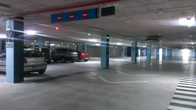 The parking building in Modragones is opened