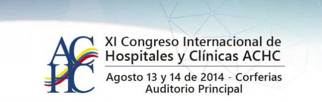 We are present in the XI International Congress of Hospitals and Clinics in Bogota