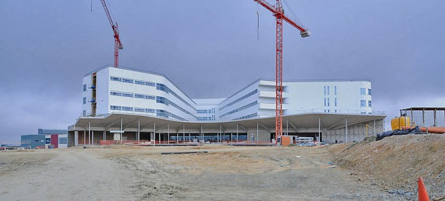 árgola arquitectos will be in charge of the remaining works in the Cáceres Hospital