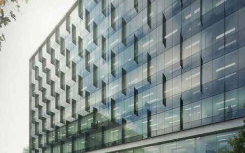 Edificio de oficinas en Juan de Arona, Lima