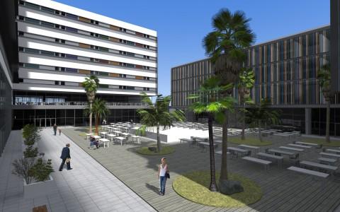 Shopping and Business Center in Avda. Republica de Panama, Lima