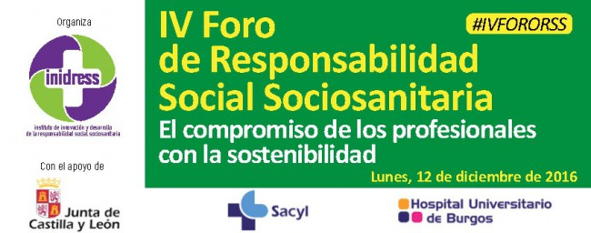 César Arribas in the IV Forum of Healthcare Social Responsibility