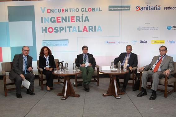 Luis González Sterling en el V Encuentro Global de Ingeniería Hospitalaria