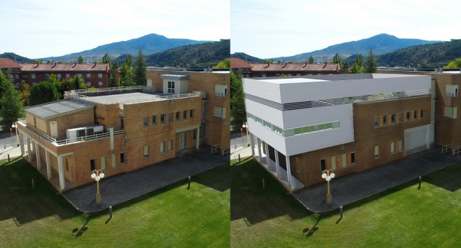 Refurbishment of the South Pavilion of the García Orcoyen Hospital in Estella